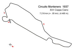 Livorno circuit used in 1937