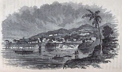 The colony of Freetown in 1856