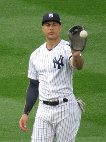 Stanton with the Yankees in 2019