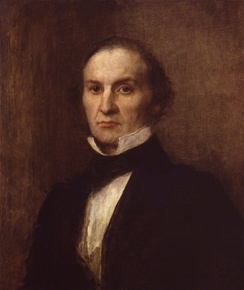 Gladstone in 1859, painted by George Frederic Watts.