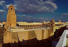 The Great Mosque of Kairouan, founded in 670, is the oldest mosque in North Africa;[137] it is located in Kairouan, Tunisia