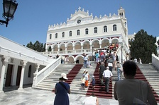 Our Lady of Tinos, the major Marian shrine in Greece.