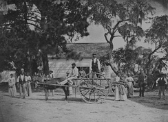 James Hopkinson's plantation, South Carolina ca. 1862.
