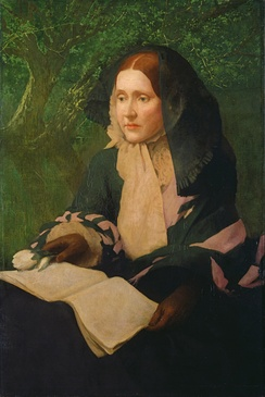 Portrait of Julia Ward Howe, by John Elliott, 1925