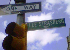 "East 15th Street between Union Square East and Irving Place in Manhattan has been designated ""Lee Strasberg Way""."