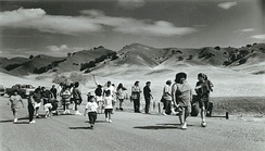 Members of the Round Valley Indian Tribe retrace a forced 1863  relocation to Covelo, California