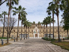Hospital de las Cinco Llagas is the seat of the Parliament of Andalusia