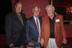 Rams Architects, (left) Charley Armey, (center) Dick Vermeil, (right) Jim Hanifan.