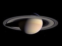 A picture of Saturn taken by Cassini (2004)