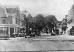 Main Street looking north, 1906