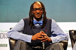 Snoop Dogg speaks onstage during day one of TechCrunch Disrupt SF 2015