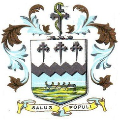The coat of arms of Southport