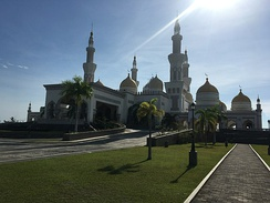 The Sultan Haji Hassanal Bolkiah Masjid of Cotabato City, Philippines.
