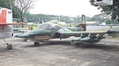 A-37B (21133) on display at the Royal Thai Air Force Museum