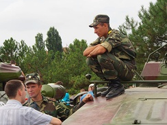 Transnistrian soldiers in 2013