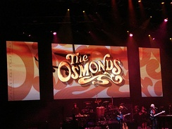 The Osmonds performing in May 2008