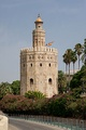 Torre del Oro Almohad tower in Seville, Spain