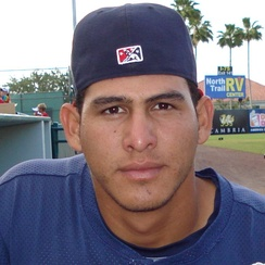 Ramos with the Fort Myers Miracle in 2008