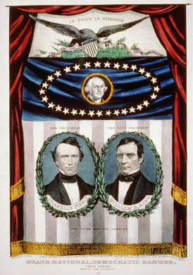 Democratic Pierce/King campaign poster