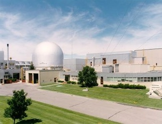 Experimental Breeder Reactor II, which served as the prototype for the Integral Fast Reactor