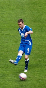 Barnes playing for Brighton & Hove Albion in 2011