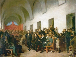 1810 meeting of the cabildo in Buenos Aires