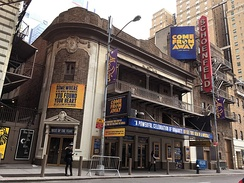The Gerald Schoenfeld Theatre on Broadway during its run of Come from Away