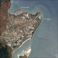 The Ebro Delta from space