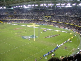 The 2006 match between Australia and England at Telstra Dome.