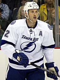 Brewer with the Lightning in 2014.