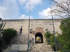 Entrance of Fort Nassau