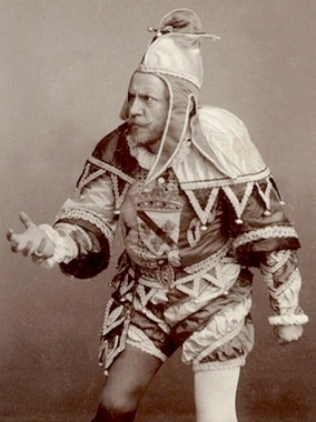 D'Andrade as Rigoletto, the role in which he made his Covent Garden debut in 1886