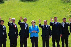 Heads of the G7 nations in 2015