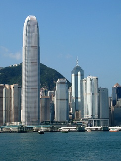 International Finance Centre, Hong Kong.  Hong Kong is the 3rd largest Sink OFC, and is the 8th largest global tax haven.[2]