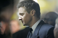 Renner at The Bourne Legacy premiere in Sydney, Australia