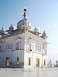 Keshgarh Sahib Gurudwara at Anandpur Sahib, Punjab, the birthplace of Khalsa