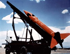 The MGR-1 Honest John was the first nuclear-tipped rocket developed by the U.S.