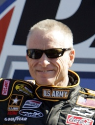 Mark Martin (pictured in 2009) had the 48th pole position of his career.