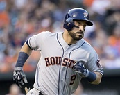 Picutre of Houston Astros utility player Marwin Gonzales