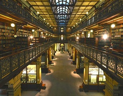 Mortlock Wing interior, view to south