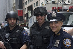 NYPD officers from the Emergency Service Unit (ESU) in June 2009.