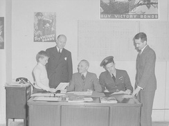 Victory Bond sales in Montreal in 1943