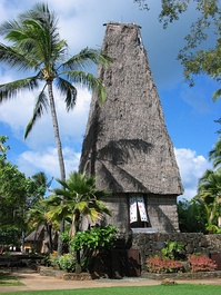 A Fiji Temple at the Polynesian Cultural Center