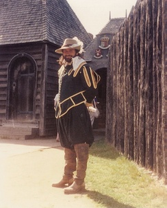 Typical 17th century uniform at Port-Royal