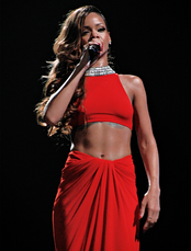 The song features guest vocals from Barbadian recording artist Rihanna.