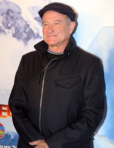 Robin Williams (shown in 2011): his widow said he was diagnosed on autopsy with Lewy bodies.[18][19]