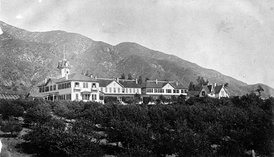 The Sierra Madre Villa Hotel, 1884.