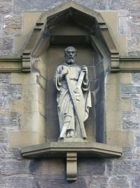 St. Andrew statue, Church Street, St. Andrews.jpg