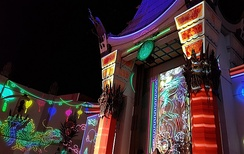 Chinese Theatre at night