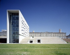 The rectory and main campus of the New University of Lisbon.